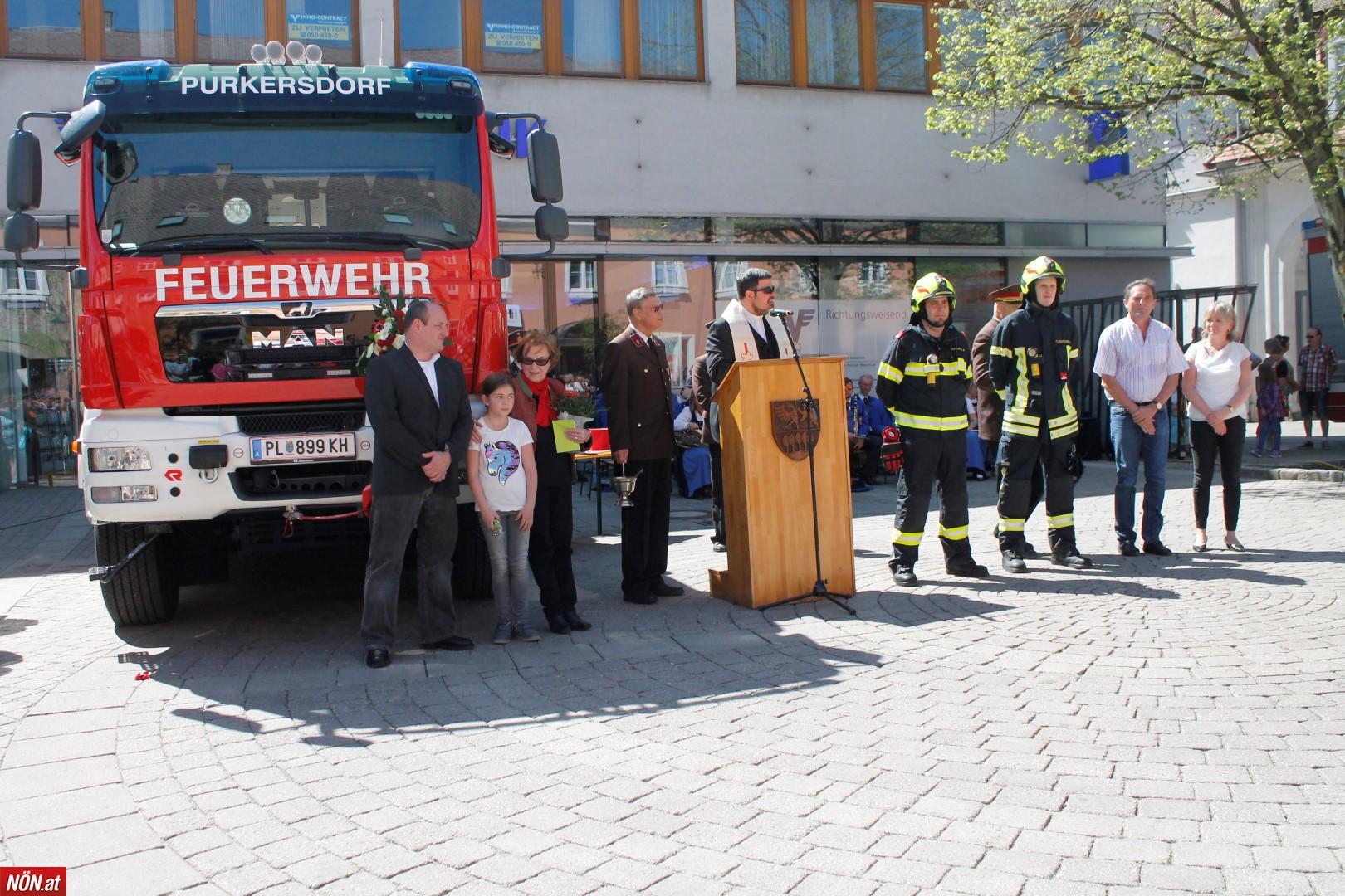 145 Jahre Freiwillige Feuerwehr in Purkersdorf