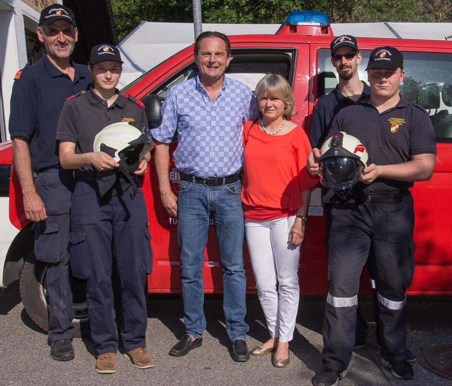 Spende Feuerwehr Tullnerbach-Irenental
